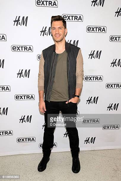 Andy Grammer visits 'Extra' at their New York studios at HM in Times Square on October 20 2016 in New York City