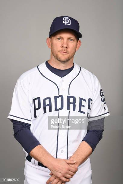 Andy Green of the San Diego Padres poses during Photo Day on Wednesday February 21 2018 at Peoria Stadium in Peoria Arizona