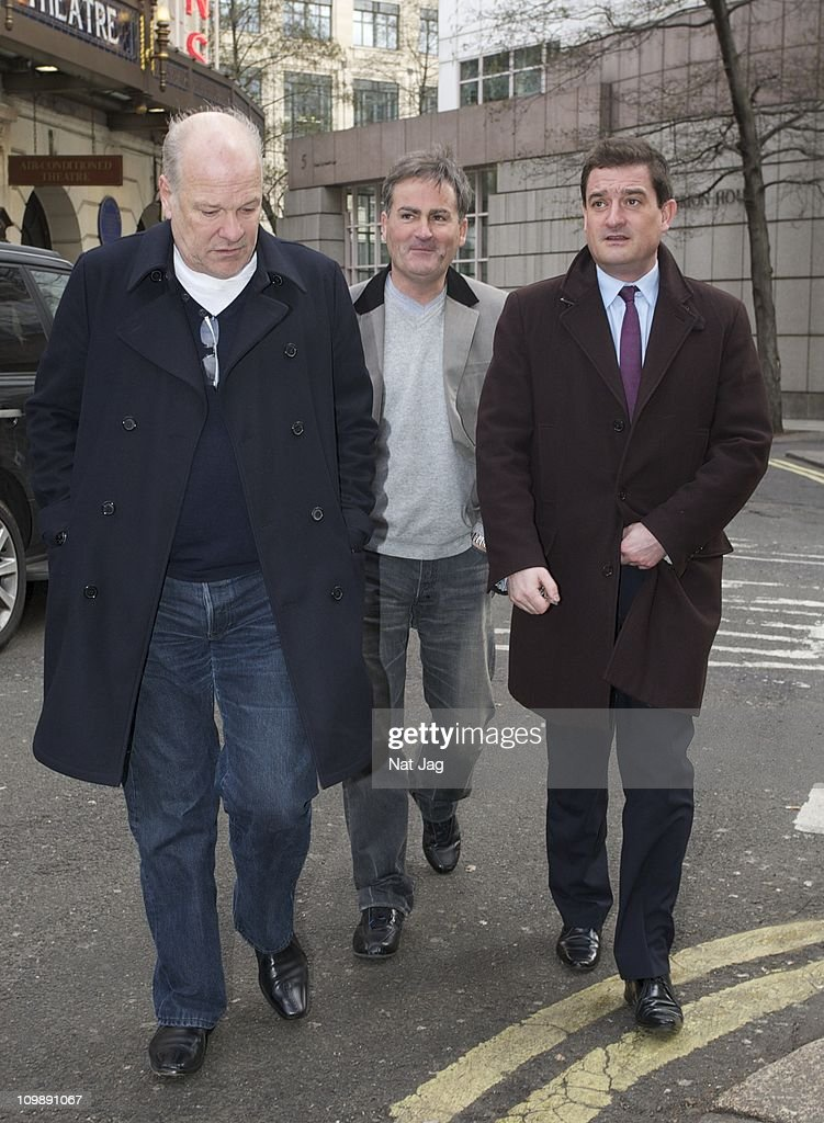 Celebrity Sightings In London - March 09, 2011
