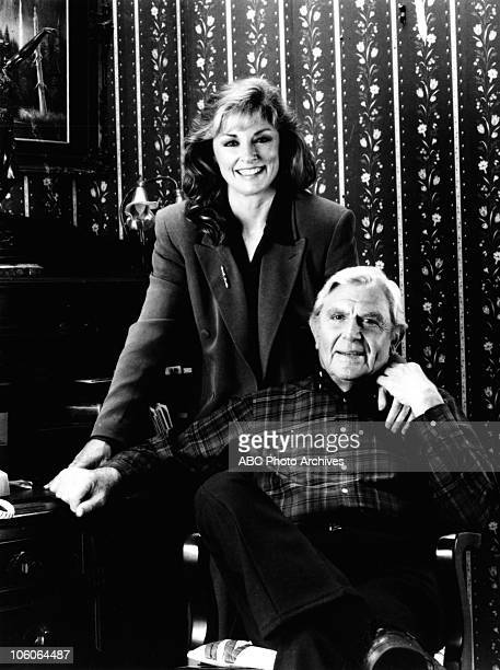 MATLOCK Andy Griffith and Brynn Thayer Gallery Shoot date November 24 1992 BRYN THAYER