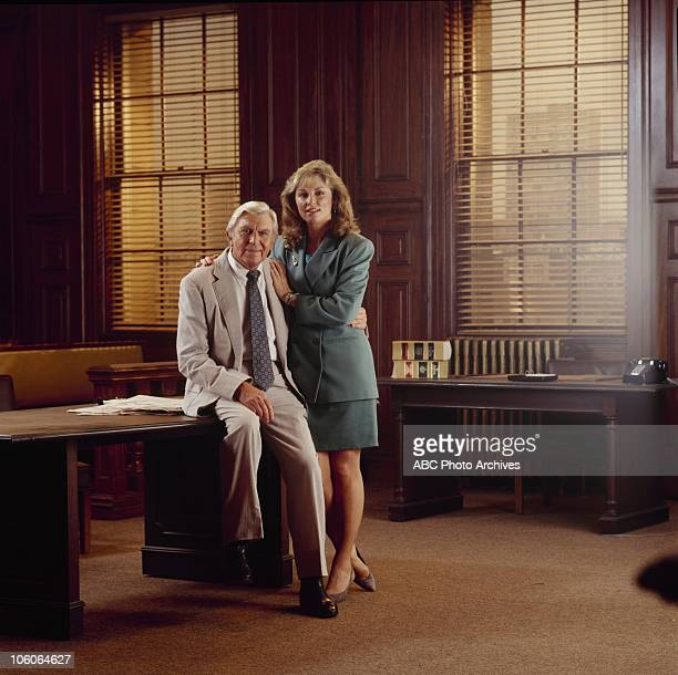 MATLOCK Andy Griffith and Brynn Thayer Gallery Shoot date November 24 1992 ANDY