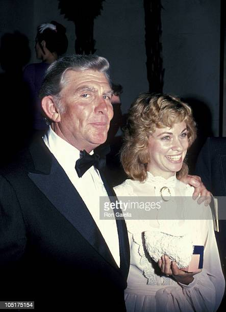 Andy Griffith and wife during 33rd Annual Emmy Awards September 13 1981 at Pasadena Civic Auditorium in Los Angeles California United States