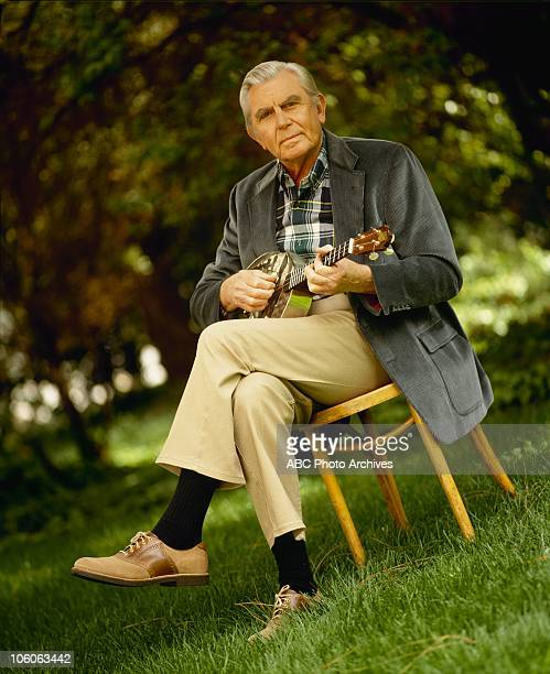 MATLOCK Andy Griffith Gallery Shoot date March 30 1992 ANDY