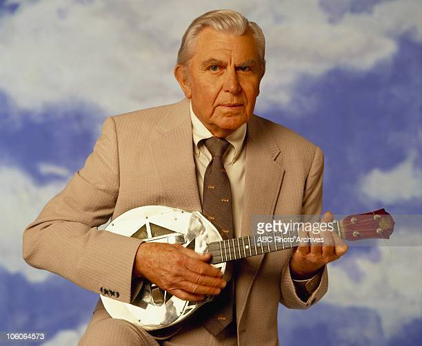 """Andy Griffith Gallery"""" - Shoot date March 30, 1992. ANDY GRIFFITH"""