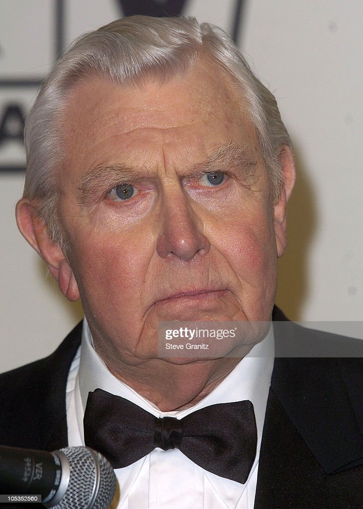 Andy Griffith, winner of the Legend Award for 'The Andy Griffith Show'