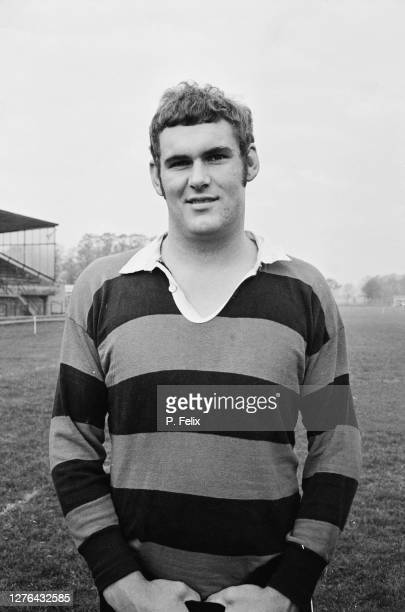Andy Haden of the New Zealand rugby team, aka the All Blacks, UK, 24th October 1972.