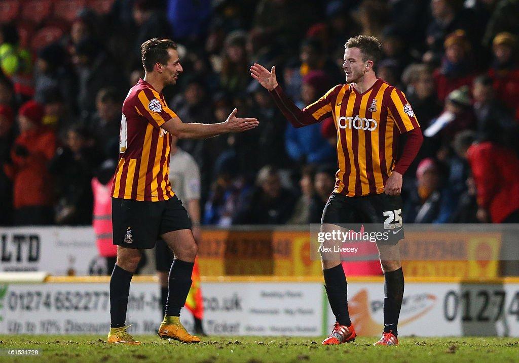 Bradford City v Millwall - FA Cup Third Round Replay : News Photo