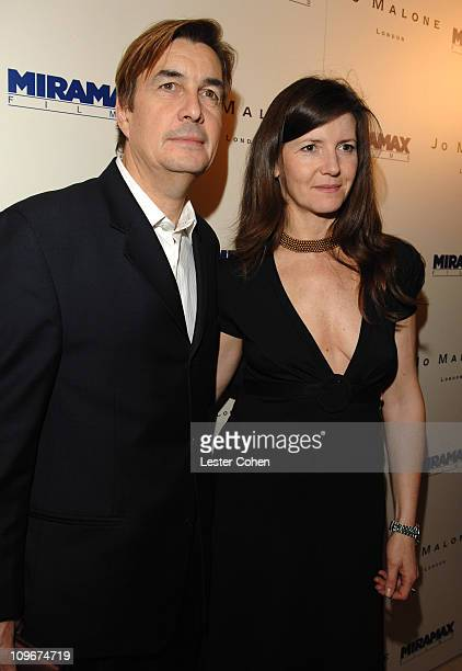 Andy Harries and Christine Langan during Miramax Films and British Fragrance House Jo Malone Join to Celebrate 2007 OscarNominated Films 'The Queen'...