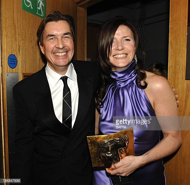 Andy Harries and Christine Langan winners of Best Film for 'The Queen'