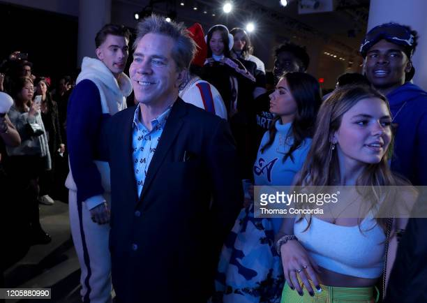Andy Hilfiger attends Klarna STYLE360 Hosts Andy Hilfiger Presents Artistix By Greg Polisseni Presentation/See Shop on February 12 2020 in New York...