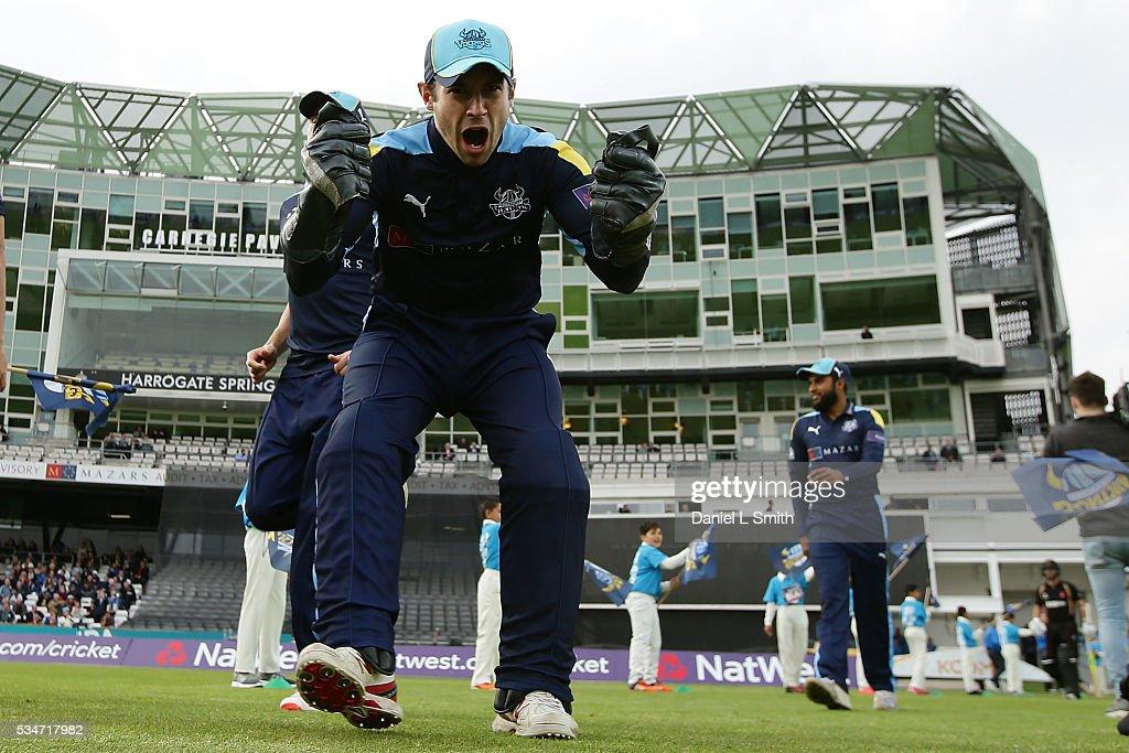 Yorkshire v Leicestershire - NatWest T20 Blast : ニュース写真