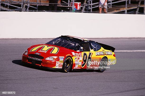 Andy Houston drives his car during the Daytona 500 at the Daytona International Speedway on February 16 2001 in Daytona Beach Florida