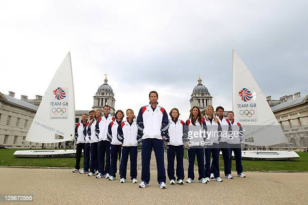 Andy Hunt Iain Percy Annie Lush Nick Dempsey Lucy Macgregor Hannah Mills Ben Ainslie Kate Macgregor Bryony Shaw Saskia Clark Andrew Simpson and...