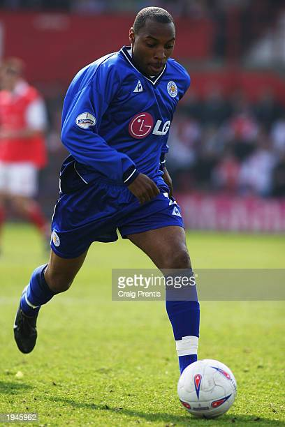 Andy Impey of Leicester City runs with the ball during the Nationwide Division One match between Rotherham United and Leicester City held on 12 April...