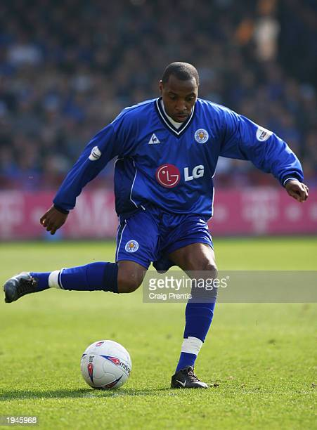 Andy Impey of Leicester City with the ball at his feet during the Nationwide Division One match between Rotherham United and Leicester City held on...