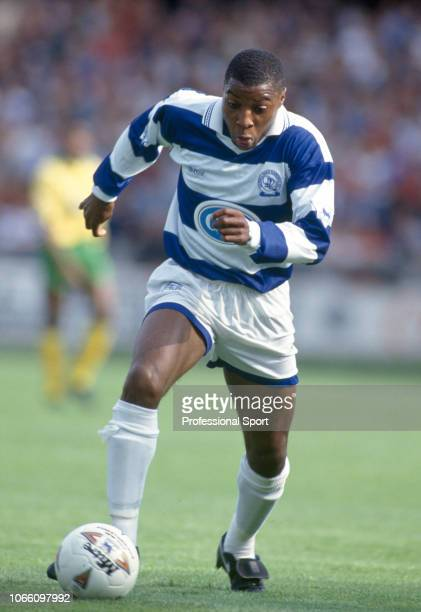 Andy Impey of Queens Park Rangers in action during the FA Carling Premiership match between Queens Park Rangers v Norwich City at Loftus Road on...