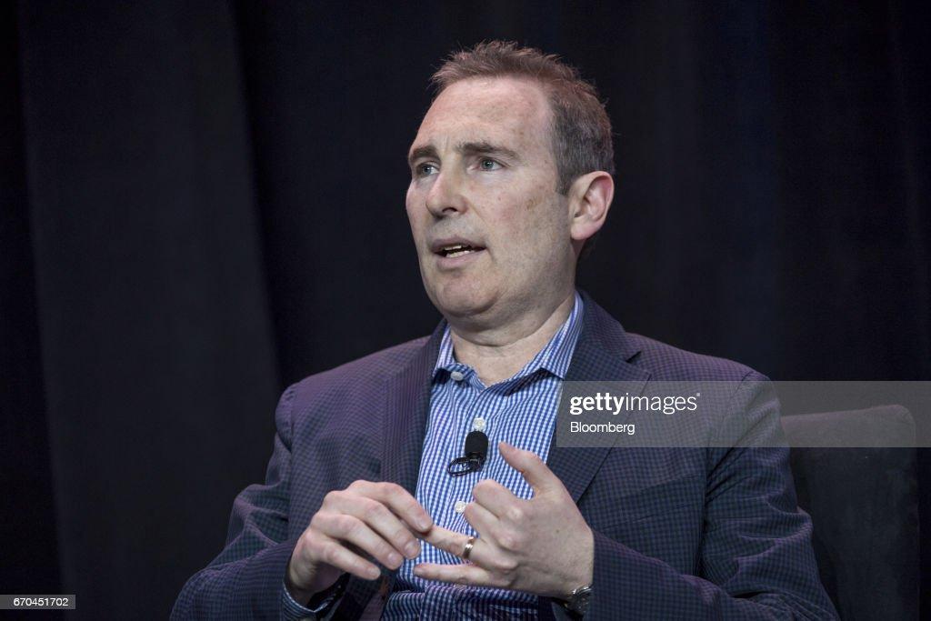 Amazon Web Services Head Andrew Jassy Speaks At The AWS Summit : ニュース写真