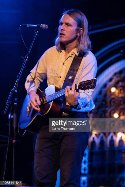 Andy Jenkins performs at the Union Chapel on December 3 2018 in London England