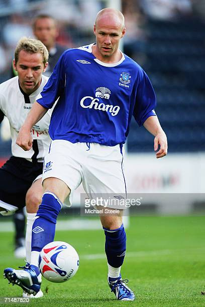Andy Johnson of Everton during the friendly match between Preston North End and Everton at Deepdale on July 19,2006 in Preston,England.