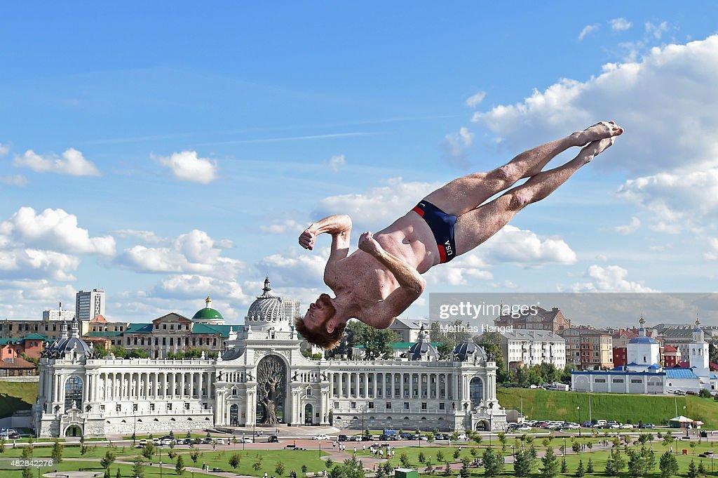 High Diving - 16th FINA World Championships: Day Ten : News Photo