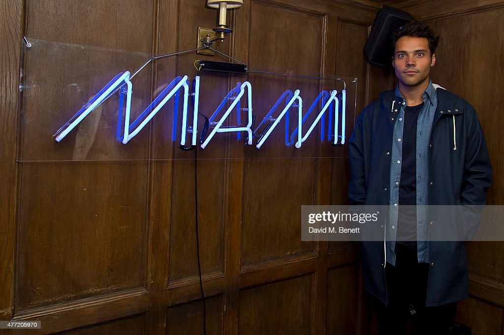 Andy Jordan attends the Miami in London Party at Soho House on June 14, 2015 in London, England.