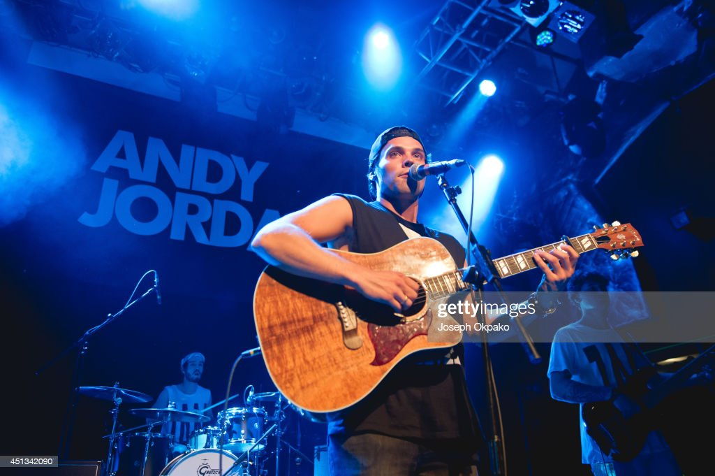 Andy Jordan Performs At O2 Islington Academy In London