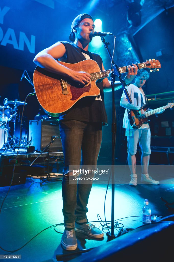 Andy Jordan performs on stage at O2 Islington Academy on June 27, 2014 in London, United Kingdom.