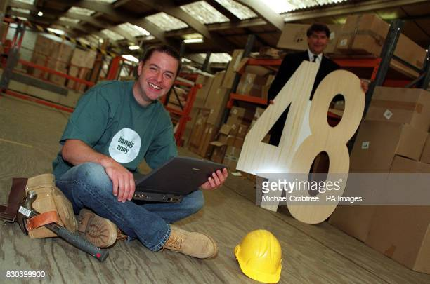 Andy Kane alias the UK's busiest joiner 'Handy Andy' is the first person to log onto a new ecommerce venture being launched by Magnet...