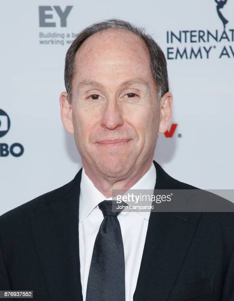 Andy Kaplan attends 45th International Emmy Awards at New York Hilton on November 20 2017 in New York City