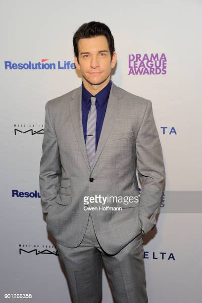 Andy Karl attends 83rd Annual Drama League Awards at Marriott Marquis on May 19 2017 in New York City