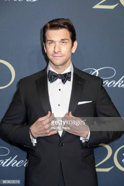 Andy Karl attends the Brooks Brothers Bicentennial Celebration at Jazz At Lincoln Center Manhattan