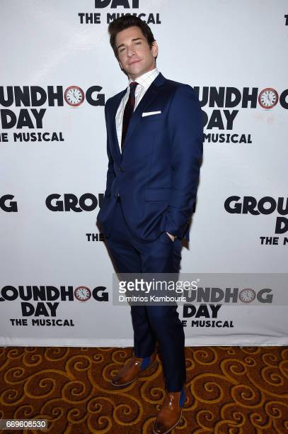 """Andy Karl attends the """"Groundhog Day"""" Broadway Opening Night at Gotham Hall on April 17, 2017 in New York City."""