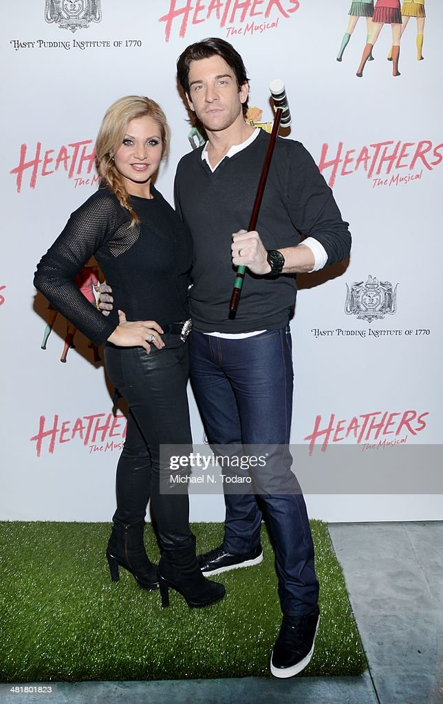 Andy Karl attends the off Broadway opening night of 'Heathers The Musical' at New World Stages on March 31, 2014 in New York City.