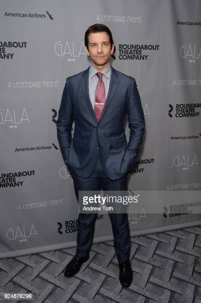 Andy Karl attends the Roundabout Theatre Company's 2018 Gala at The Ziegfeld Ballroom on February 26 2018 in New York City