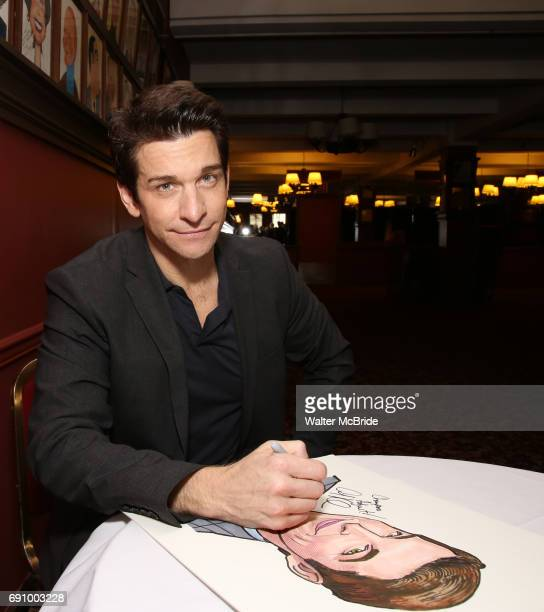 Andy Karl during the Andy Karl Sardi's Portrait unveiling at Sardi's on May 31 2017 in New York City