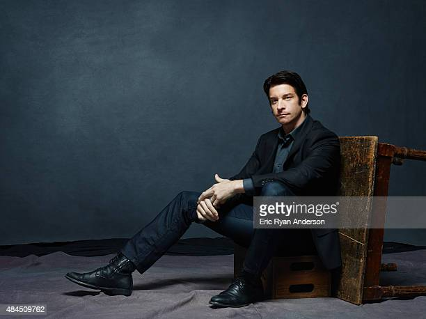 Andy Karl is photographed for The Hollywood Reporter on May 23 2014 in New York City