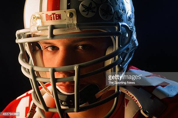 Andy Katzenmoyer of the Ohio State Buckeyes poses for a photo on March 6 1997