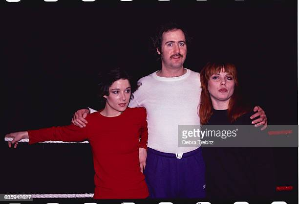 Andy Kaufman with Caitlin Clarke and Debbie Harry