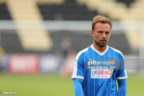 Andy Kellett of Notts County during the preseason match between Notts County and Leicester City at Meadow Lane on July 21 2018 in Nottingham England