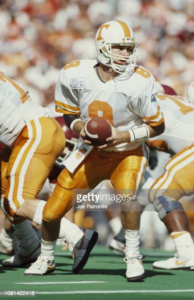 Andy Kelly Quarterback for the University of Tennessee Volunteers runs the ball during the NCAA Southwest Conference Cotton Bowl Classic championship...