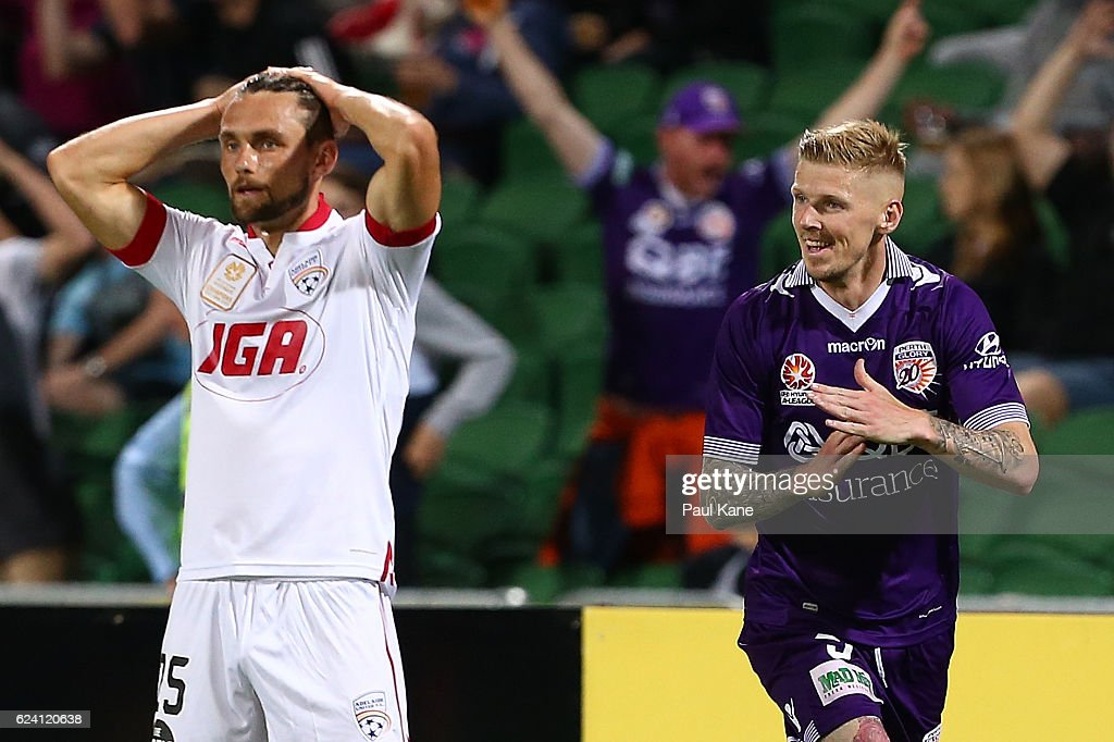 A-League Rd 7 - Perth v Adelaide