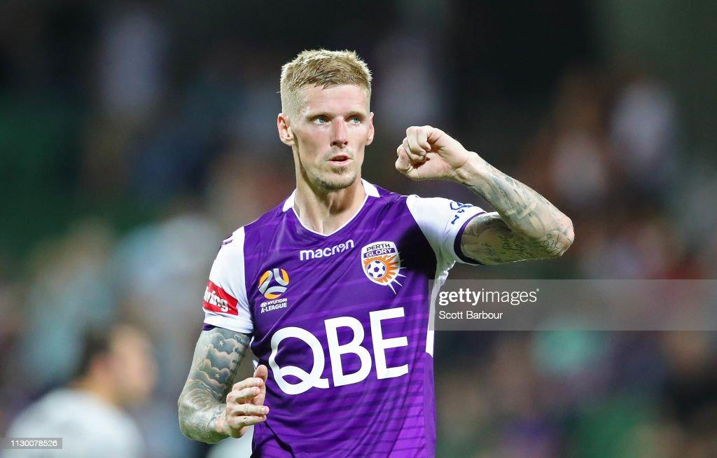 A-League Rd 19 - Perth v Brisbane : News Photo