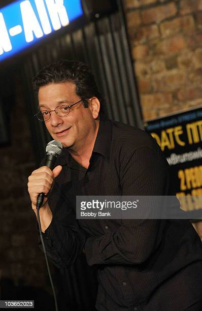 Andy Kindler performs at The Stress Factory Comedy Club on August 26, 2010 in New Brunswick, New Jersey.