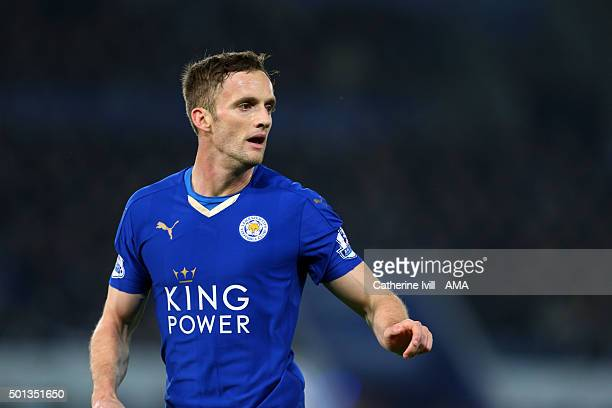 Andy King of Leicester City during the Barclays Premier League match between Leicester City and Chelsea at the King Power Stadium on December 14 2015...