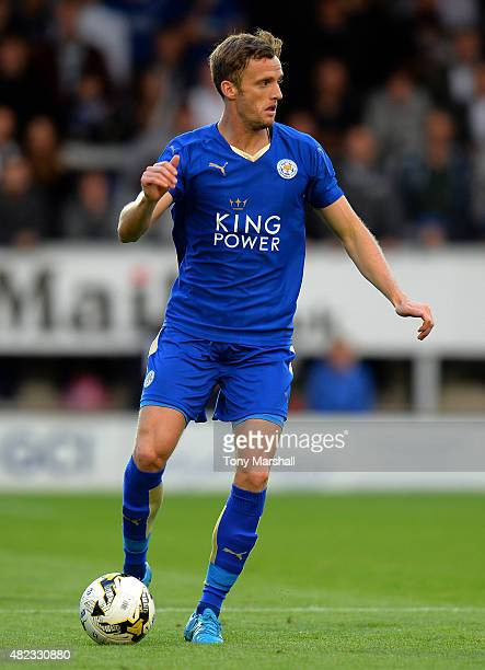Andy King of Leicester City during the Pre Season Friendly match between Burton Albion and Leicester City at Pirelli Stadium on July 28 2015 in...