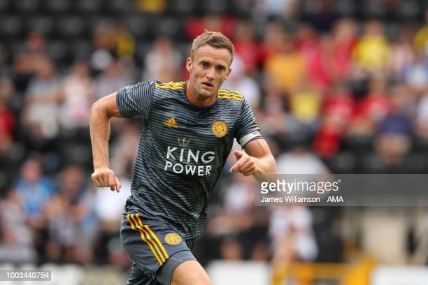 Andy King of Leicester City during the preseason match between Notts County and Leicester City at Meadow Lane on July 21 2018 in Nottingham England