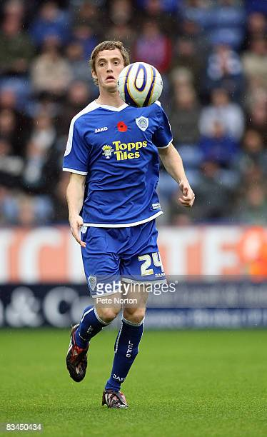 Andy King of Leicester City in action during the Coca Cola League One Match between Leicester City and Northampton Town at the Walkers Stadium on...