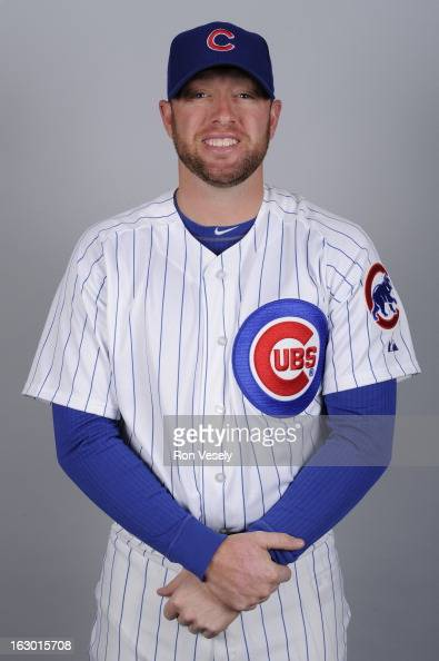 Andy Lane Of The Chicago Cubs Poses During Photo Day On