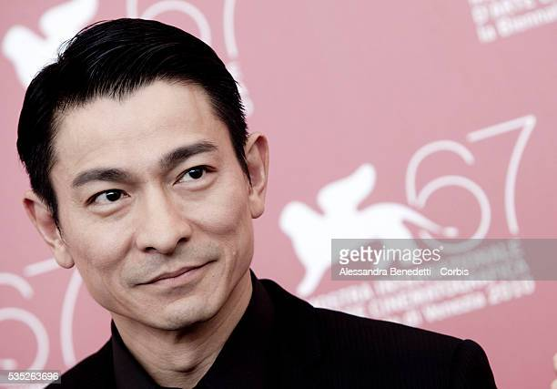 Andy Lau attends the photocall of Di RenJie Zhi Tongtian di Guo presented in competiiton at the 67th Venice Film Festival