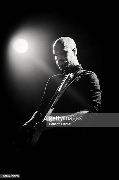 Andy MacFarlane of The Twilight Sad performs on stage at The Liquid Room on December 14, 2013 in Edinburgh, United Kingdom.